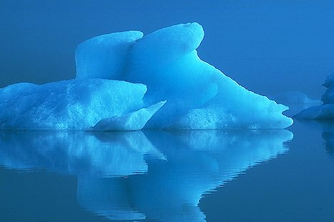 Etheral Iceberg Portage